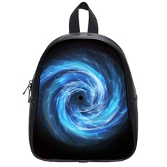 Hole Space Galaxy Star Planet School Bag (small) by Mariart