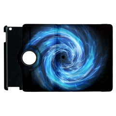 Hole Space Galaxy Star Planet Apple Ipad 3/4 Flip 360 Case by Mariart