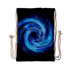 Hole Space Galaxy Star Planet Drawstring Bag (small) by Mariart