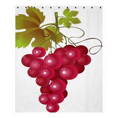 Red Fruit Grape Shower Curtain 60  X 72  (medium)  by Mariart