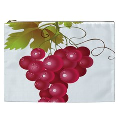 Red Fruit Grape Cosmetic Bag (xxl)  by Mariart