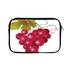 Red Fruit Grape Apple Ipad Mini Zipper Cases by Mariart