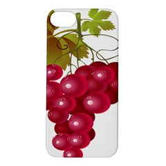 Red Fruit Grape Apple Iphone 5s/ Se Hardshell Case by Mariart