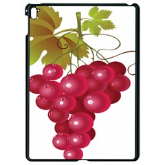 Red Fruit Grape Apple Ipad Pro 9 7   Black Seamless Case by Mariart