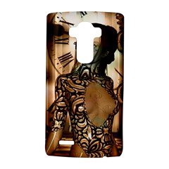 Steampunk, Steampunk Women With Clocks And Gears Lg G4 Hardshell Case by FantasyWorld7