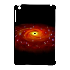 Space Galaxy Black Sun Apple Ipad Mini Hardshell Case (compatible With Smart Cover) by Mariart