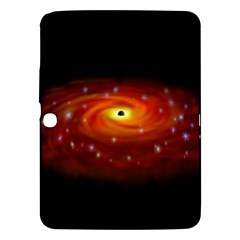 Space Galaxy Black Sun Samsung Galaxy Tab 3 (10 1 ) P5200 Hardshell Case  by Mariart