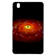 Space Galaxy Black Sun Samsung Galaxy Tab Pro 8 4 Hardshell Case by Mariart