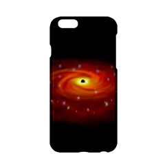 Space Galaxy Black Sun Apple Iphone 6/6s Hardshell Case by Mariart