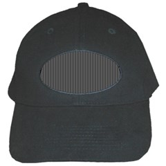 Space Line Grey Black Black Cap by Mariart