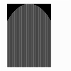 Space Line Grey Black Small Garden Flag (two Sides) by Mariart
