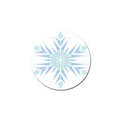 Snowflakes Star Blue Triangle Golf Ball Marker (4 Pack) by Mariart