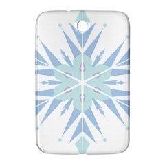 Snowflakes Star Blue Triangle Samsung Galaxy Note 8 0 N5100 Hardshell Case  by Mariart