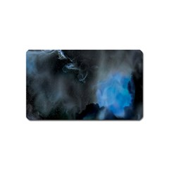 Space Star Blue Sky Magnet (name Card) by Mariart