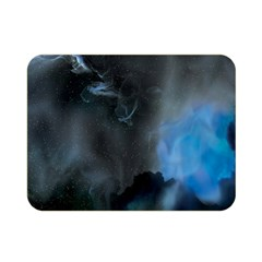 Space Star Blue Sky Double Sided Flano Blanket (mini)  by Mariart