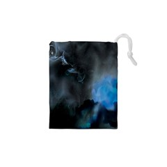 Space Star Blue Sky Drawstring Pouches (xs)  by Mariart