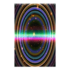 Spectrum Space Line Rainbow Hole Shower Curtain 48  X 72  (small)  by Mariart