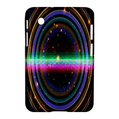 Spectrum Space Line Rainbow Hole Samsung Galaxy Tab 2 (7 ) P3100 Hardshell Case  by Mariart