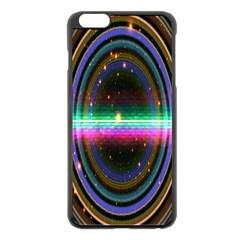 Spectrum Space Line Rainbow Hole Apple Iphone 6 Plus/6s Plus Black Enamel Case by Mariart