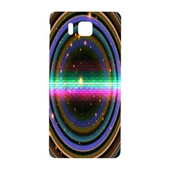 Spectrum Space Line Rainbow Hole Samsung Galaxy Alpha Hardshell Back Case by Mariart