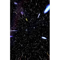 Space Warp Speed Hyperspace Through Starfield Nebula Space Star Hole Galaxy 5 5  X 8 5  Notebooks by Mariart