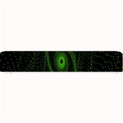 Space Green Hypnotizing Tunnel Animation Hole Polka Green Small Bar Mats by Mariart