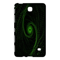 Space Green Hypnotizing Tunnel Animation Hole Polka Green Samsung Galaxy Tab 4 (8 ) Hardshell Case  by Mariart