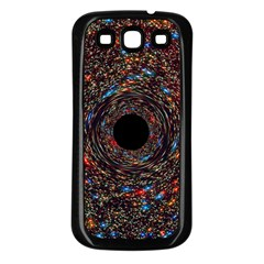 Space Star Light Black Hole Samsung Galaxy S3 Back Case (black)