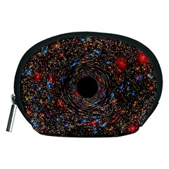 Space Star Light Black Hole Accessory Pouches (medium)