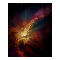 Sun Light Galaxy Shower Curtain 60  X 72  (medium)  by Mariart