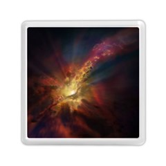 Sun Light Galaxy Memory Card Reader (square)  by Mariart