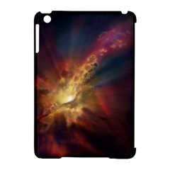 Sun Light Galaxy Apple Ipad Mini Hardshell Case (compatible With Smart Cover) by Mariart