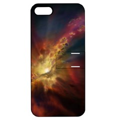 Sun Light Galaxy Apple Iphone 5 Hardshell Case With Stand by Mariart