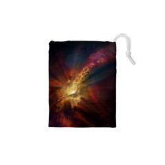 Sun Light Galaxy Drawstring Pouches (xs)  by Mariart
