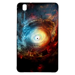 Supermassive Black Hole Galaxy Is Hidden Behind Worldwide Network Samsung Galaxy Tab Pro 8 4 Hardshell Case by Mariart