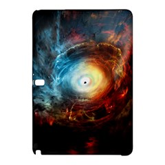 Supermassive Black Hole Galaxy Is Hidden Behind Worldwide Network Samsung Galaxy Tab Pro 12 2 Hardshell Case by Mariart