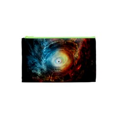 Supermassive Black Hole Galaxy Is Hidden Behind Worldwide Network Cosmetic Bag (xs) by Mariart