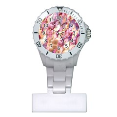 Stone Spot Triangle Plastic Nurses Watch by Mariart