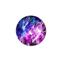 Space Galaxy Purple Blue Golf Ball Marker (10 Pack) by Mariart