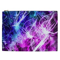Space Galaxy Purple Blue Cosmetic Bag (xxl)  by Mariart