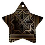 art nouveau Ornament (Star)
