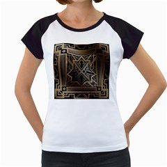 Art Nouveau Women s Cap Sleeve T
