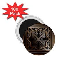 Art Nouveau 1 75  Magnets (100 Pack)
