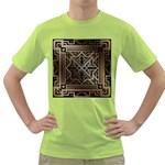 art nouveau Green T-Shirt