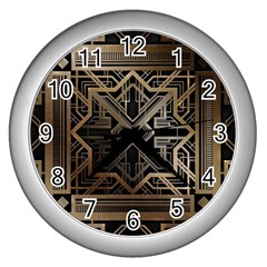 Art Nouveau Wall Clocks (silver)