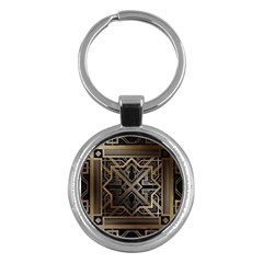 Art Nouveau Key Chains (round)