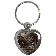 Art Nouveau Key Chains (heart)