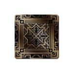 art nouveau Square Magnet