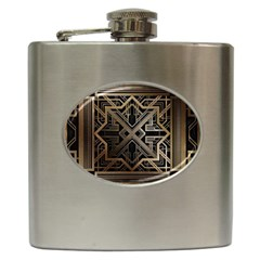 Art Nouveau Hip Flask (6 Oz)