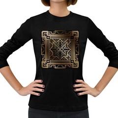 Art Nouveau Women s Long Sleeve Dark T Shirts